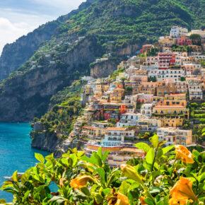 Bella Italia: 5 Tage Amalfiküste über's Wochenende mit Apartment & Flug nur 84€