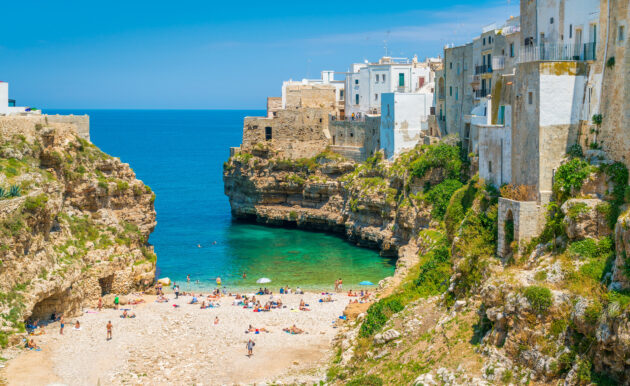Italien Apulien Puglia Polignano a Mare