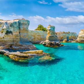 Unglaublich günstig: Apulien Flüge ab 3€