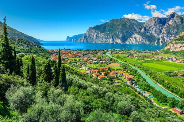 Italien Gardasee Sarca Fluss