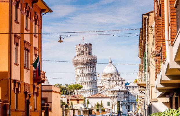 Italien Pisa Straße