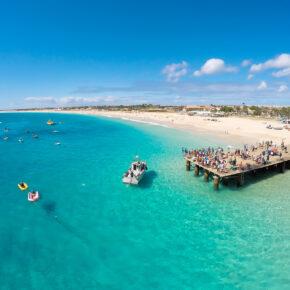 Fernreise: 8 Tage Kap Verde im TOP 4* RIU Hotel mit All Inclusive, Flug & Transfer nur 569€