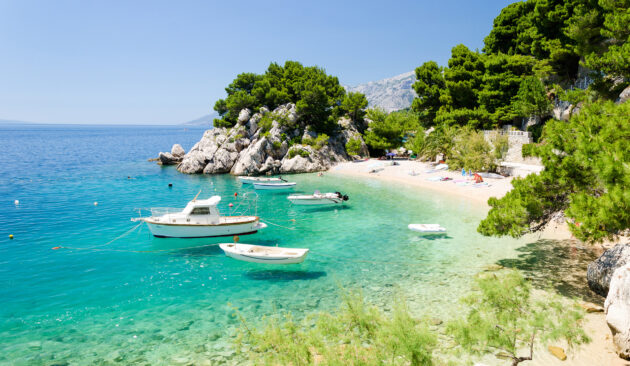 Kroatien Dalmatien Brela Makarska