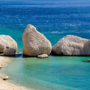 Kroatien Pag Bertinica Beach