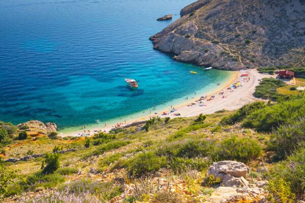 Kroatien Stara Baska Strand
