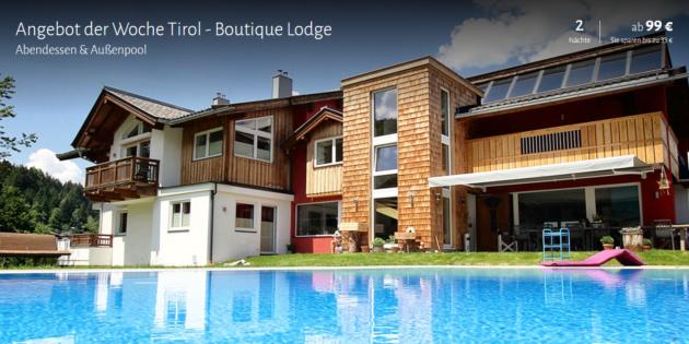 3 Tage Österreich Boutique Lodge