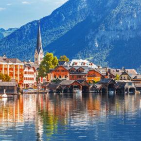 Nahe Hallstatt: 3 Tage am Dachstein im 3* Hotel inkl. HP, Pferdeschlittenfahrt & Wellness ab 119€