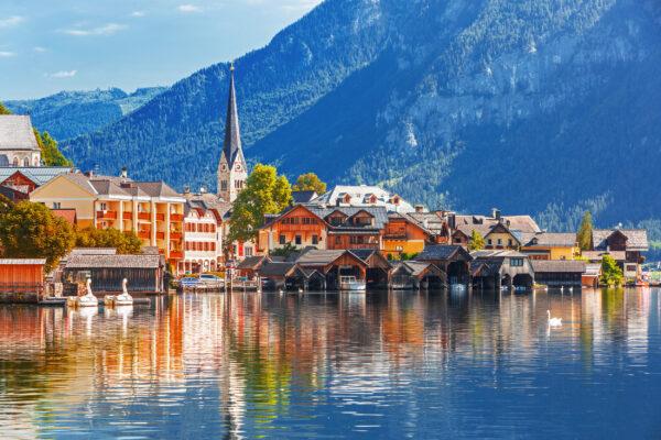 Österreich Hallstatt Berg