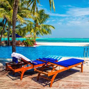Panama Liegen am Strand