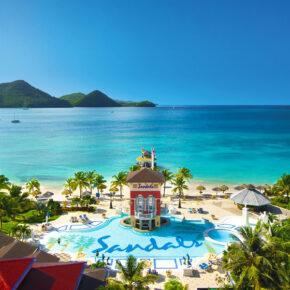 Sandals Grande St. Lucian Spa Resort Pool