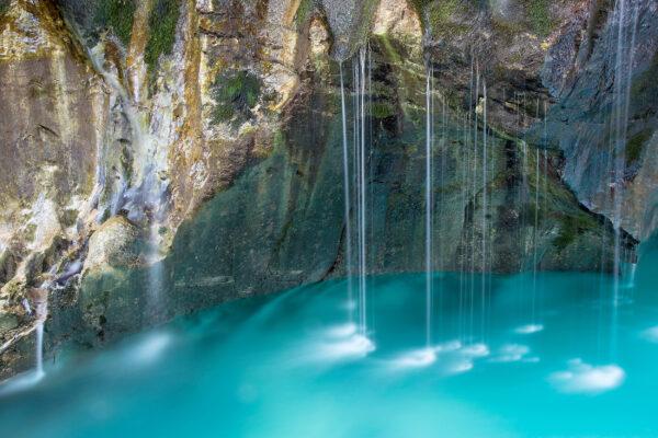 Slowenien Trivlav Nationalpark Wasserfälle