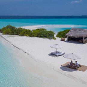 Himmlisch: 7 Tage Malediven in traumhaftem 6* Hotel mit Frühstück, Flug, Transfer & Zug für 4.146€