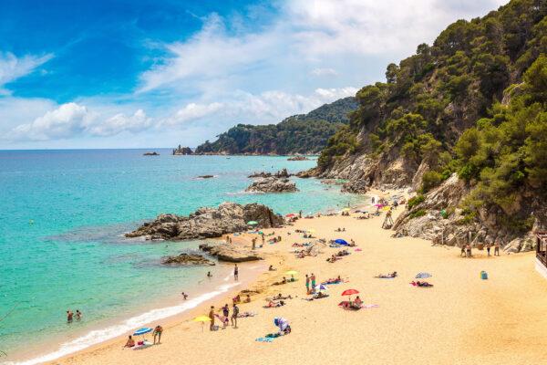 Spanien Costa Brava Lloret Strand