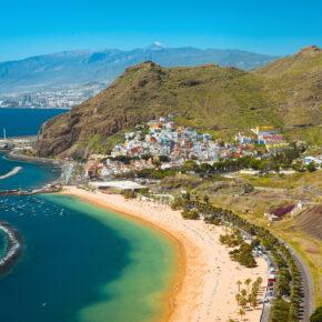 Inselurlaub: 7 Tage auf Teneriffa im 4* Hotel mit Halbpension, Flug, Transfer & Zug nur 363€