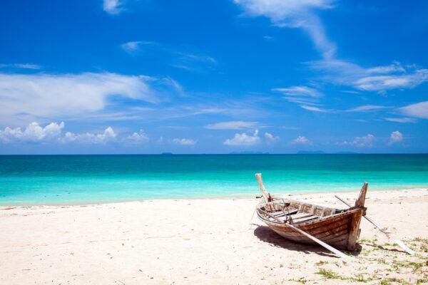 Thailand Koh Lanta Fischerboot
