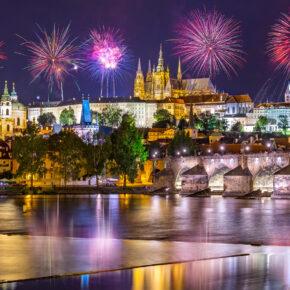 SILVESTER IN PRAG: 3 Tage in's neue Jahr feiern mit Unterkunft nur 59€