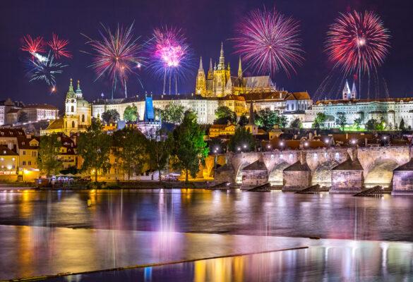 Tschechien Prag Silverster