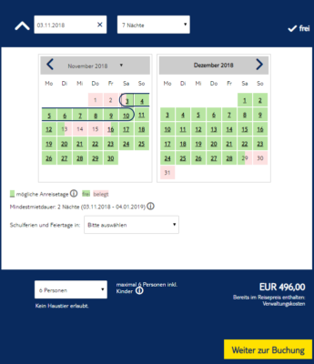 7 Tage Hausboot Deal