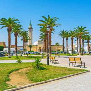 Single-Deal: Luxus-Urlaub in Tunesien mit TOP AWARD 5* Hotel, All Inclusive, Flug & Transfer nur 373€
