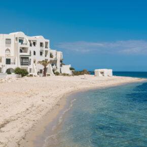 Single-Deal: 7 Tage Tunesien im 3.5* Strandhotel mit All Inclusive, Flug, Transfer & Zug nur 201€
