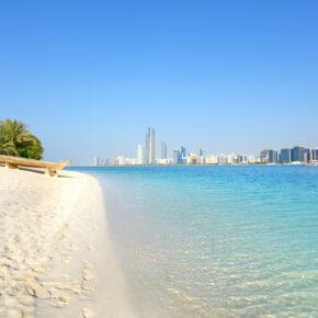Magische: 7 Tage Abu Dhabi im TOP 5* AWARD Hotel mit Frühstück, Flug, Transfer & Zug nur 483€