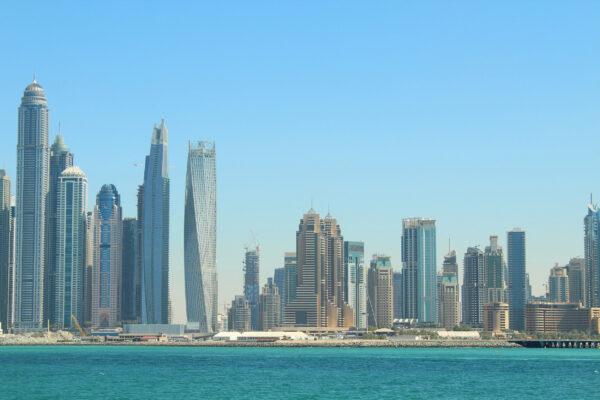 VAE Dubai Jumeirah Beach Hafen