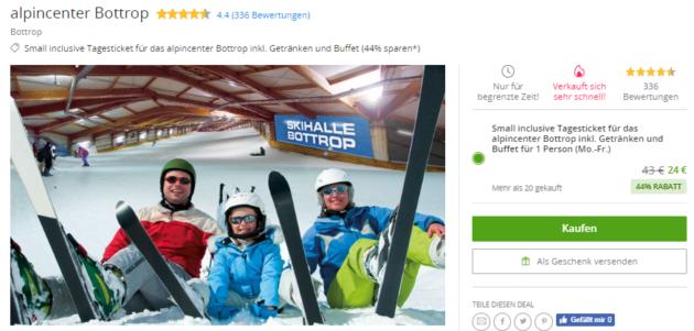 1 Tag Skihalle Bottrop