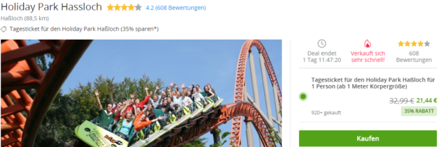 2 Tage Holiday Park
