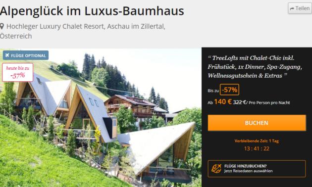3 Tage Baumhaus