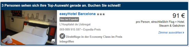 3 Tage BCN Deal