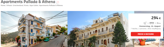 8 Tage Kreta