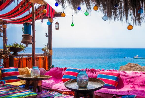 Ägypten Strand Bar