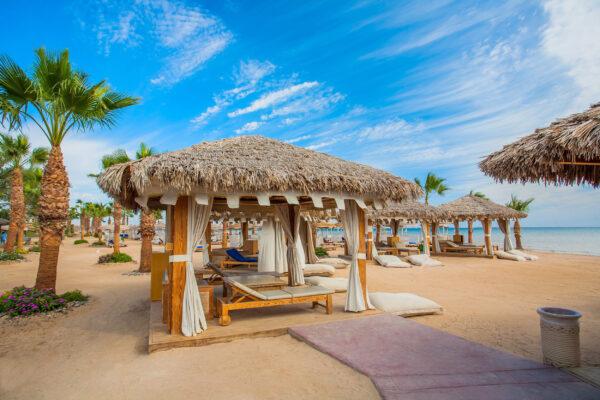 Ägypten Strand Liege
