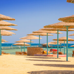 Luxus Frühbucher: 7 Tage Ägypten im TOP 5* Hotel mit All Inclusive, Flug, Transfer & Zug nur 479€