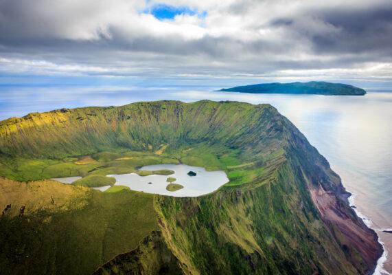 Azoren Corvo Krater