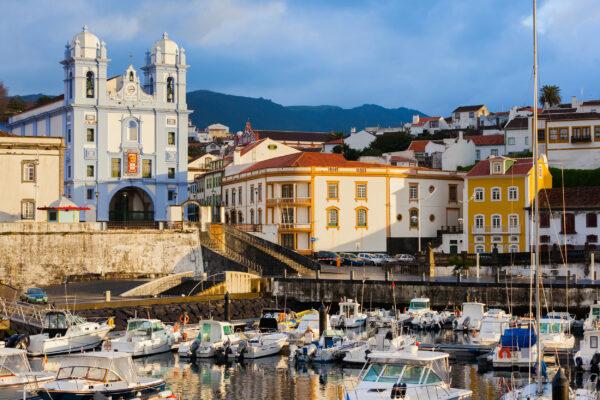 Azoren Terceira Stadt