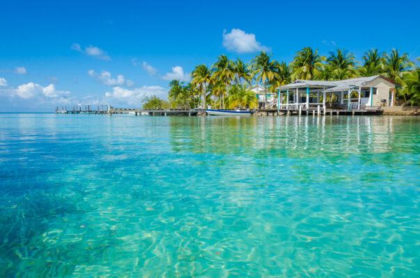 Belize Cayes Wasser