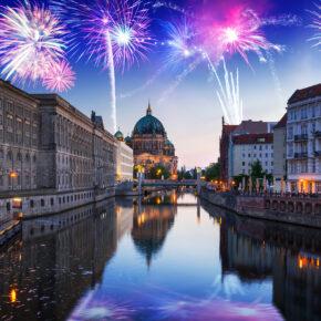Silvester in der Hauptstadt: 2 Tage Berlin mit TOP 4* Hotel & Frühstück für 109€