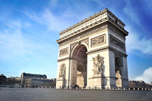 Frankreich Paris Arc de Triomphe