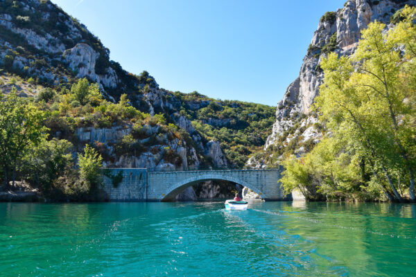 Frankreich Provence Verdon Brücke