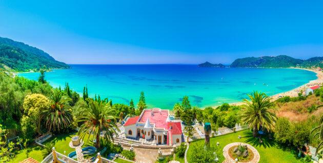 Griechenland Korfu Agios Georgios Pagon
