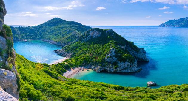 Griechenland Korfu Agios Stefanos Cape
