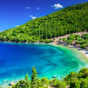 Griechenland Korfu Strandabschnitt