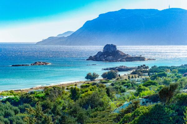 Griechenland Kos Kefalos Stadt