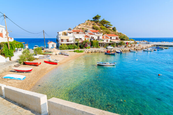 Griechenland Kos Kokkari Dorf