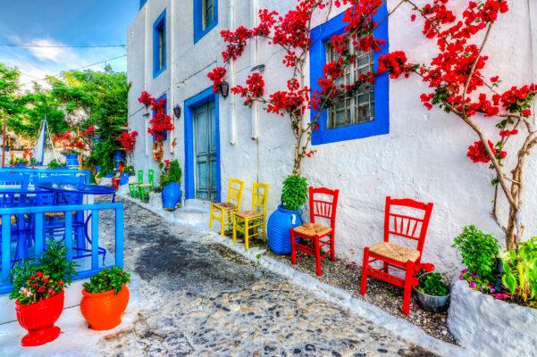 Griechenland Kos Rote Gasse
