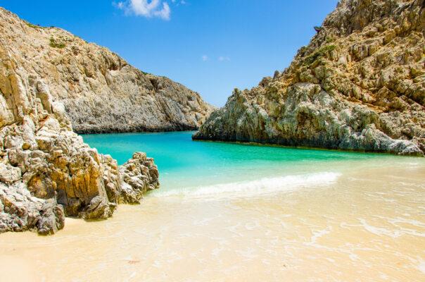 Griechenland Kreta Chania Bucht