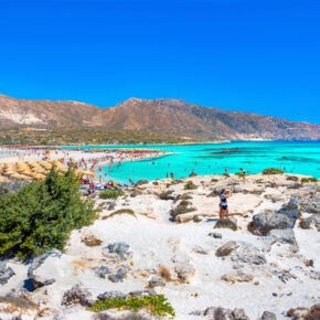 Luxusurlaub in Griechenland: 7 Tage Kreta im TOP 5* Strandhotel mit HP, Flug, Transfer & Zug nur 361€