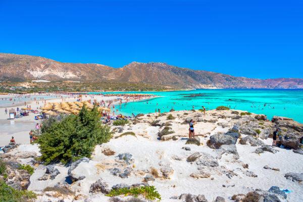 Griechenland Kreta Elafonisi Strand