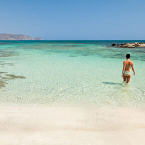 Frühbucher Kreta: 5 Tage im TOP 4* Hotel am Strand mit All Inclusive, Flug & Transfer nur 365€